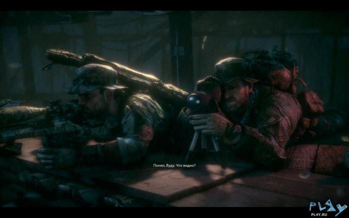 За всю игру всего одно снайперское задание. О стелс-миссиях можете забыть.