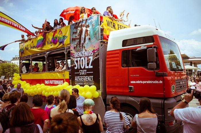 Гей-парад в Гамбурге