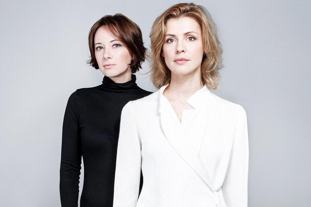 Ангелина Никонова  и Ольга Дыховичная