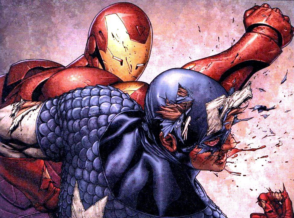 Из комикса «Гражданская война»