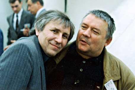 Андрей Саломатов и Юрий Брайдер.