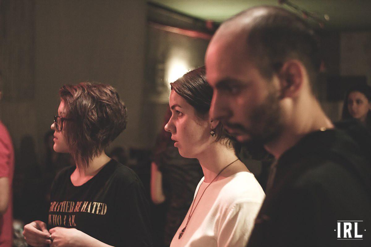 Автор интервью, Дарья Лобанова, Надежда Саяпина-Гендрусева и Левон.